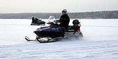 Южная Карелия приглашает на сафари на снегоходах