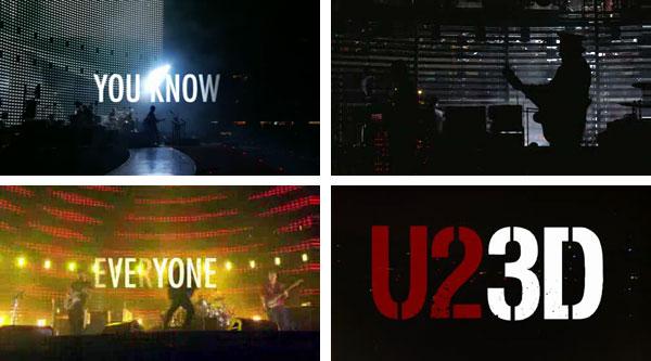 Группа U2 представит в Санкт-Петербурге уникальный 3D-концерт.