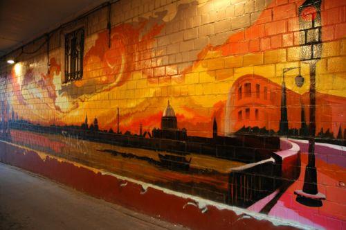 Власти Петербурга объявляют войну с граффити