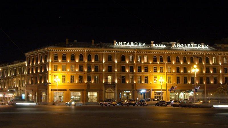 Отель Англетер