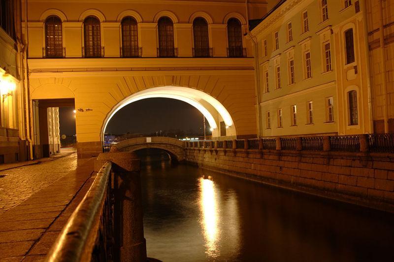 Канал между Зимними дворцами