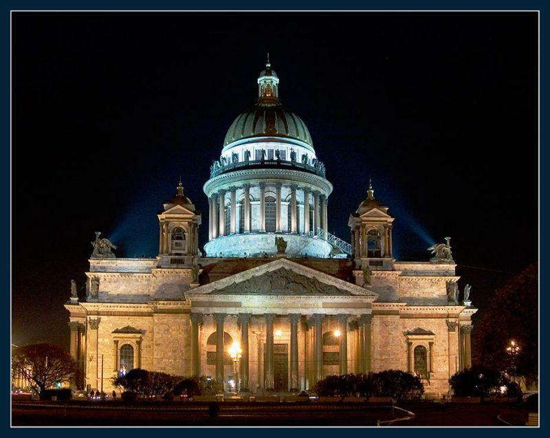 Исаакиевский собор]Вид со стороны Дворцовой набережной